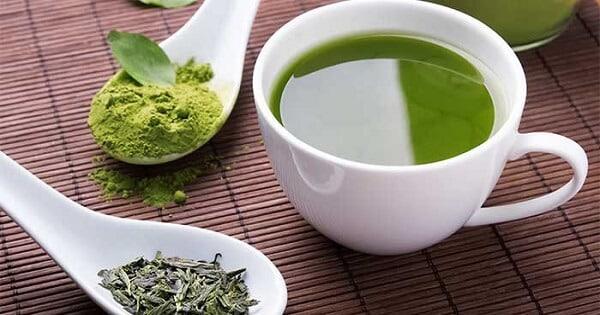 الشاى الاخضر للتخسيس قبل الأكل أم بعده
