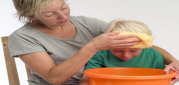 Treatment of vomiting in children Treatment of vomiting in children age three years