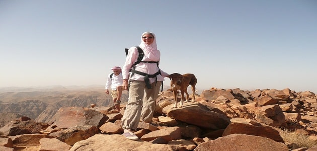 How to climb the largest plateau in Saudi Arabia How to climb the largest plateau in Saudi Arabia