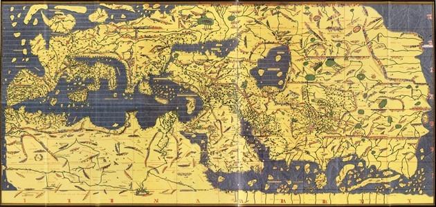 من اول من رسم خريطة العالم