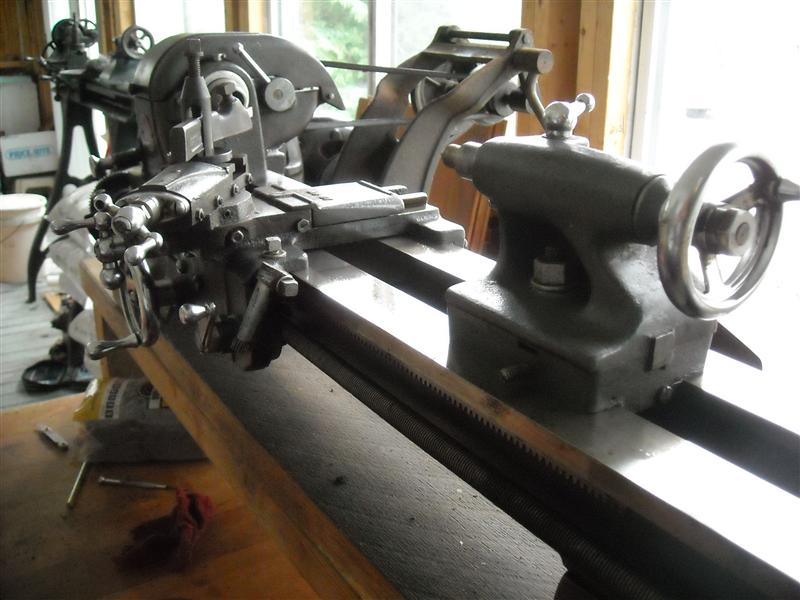 Lathe Aquisitions This Last Week Barnes 4 1 2 Parts And An Atlas 618