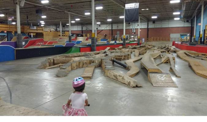 Joyride 150 Indoor Bike Park – That Agape Family
