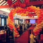 Balloon Heart Shape Arch