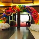 Balloon Rainbow Arch Singapore
