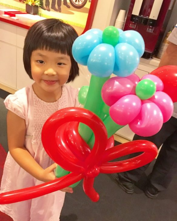 Balloon Flower Bouquet Sculpture Singapore