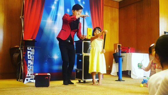 Singapore Magician for Birthday Party