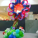 Balloon Venus Trap Sculpture