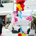 Balloon Carousel Horse Decoration