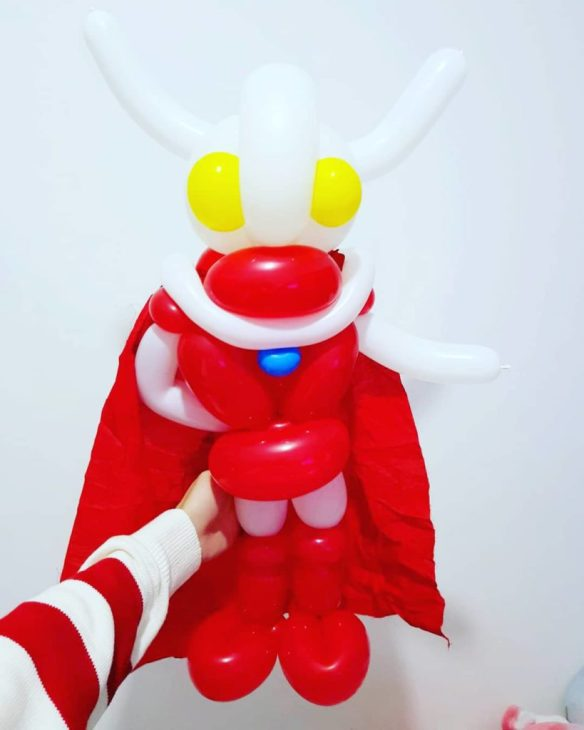 Ultraman Balloon Sculpture