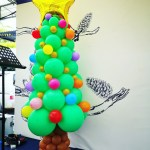 Balloon Christmas Tree Sculpture