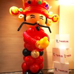 Balloon Cai Shen Ye Sculpture Decoration