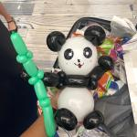 Balloon Panda Sculpture