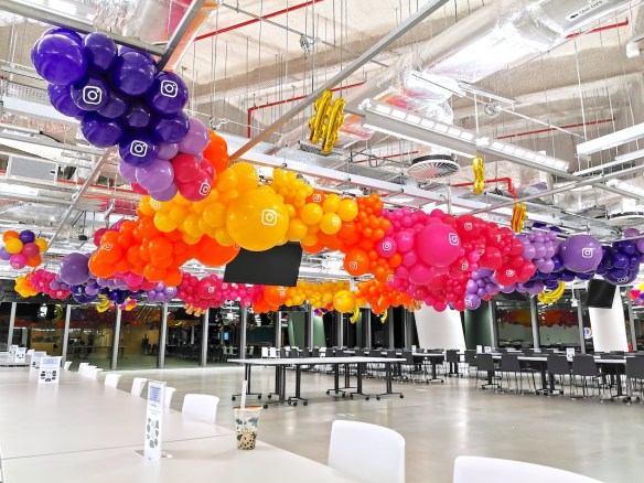 Organic Balloon Garland Decorations