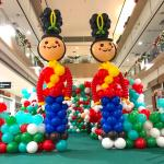 Giant Balloon Nutcracker Sculpture