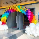 Rainbow Balloon Arch Singapore