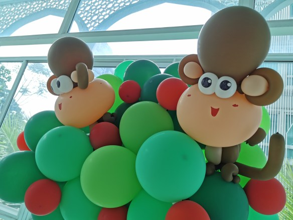 Balloon Column Decor Singapore