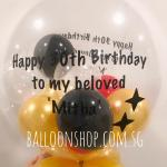 Customised helium balloon Singapore