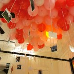 Hanging Photos on Helium Balloons