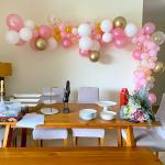 Home Organic Balloon Decorations