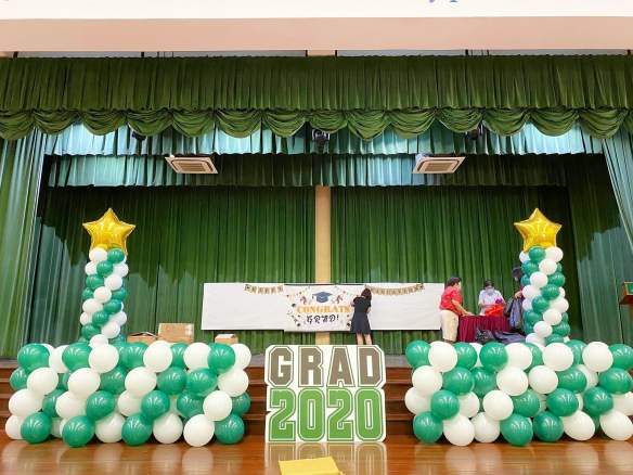 Graduation Day Balloon Decoration