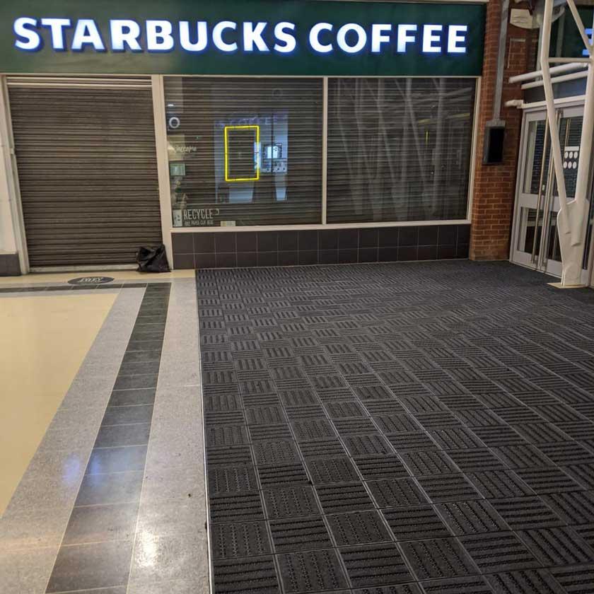 tredloc 25 primary modular entrance matting