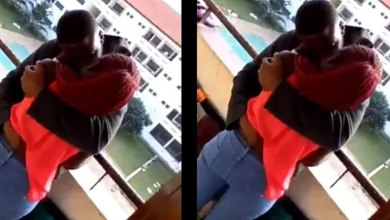 Two University of Ghana Students Captured Kissing Passionately On Campus