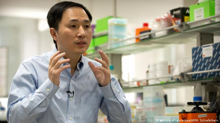 Scientist who changed babies DNA so they won't ever catch HIV jailed
