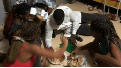 John Dumelo Enter Legon Girl