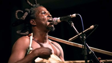 Ghanaian traditional musician, Albert Apoozore, popularly known as King Ayisoba