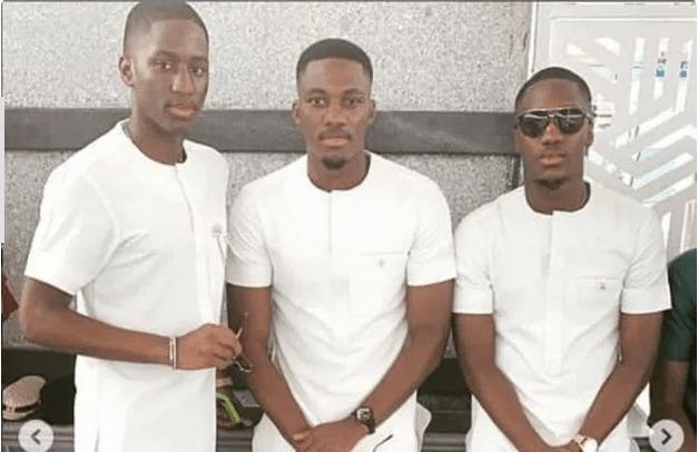 Osei Kwame Despite Sons