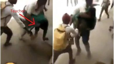 Secondary School Teacher Beaten By Students