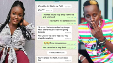 Faith Accuses MC Kats Of Refusing To Disclose His HIV Status Before Eating Her