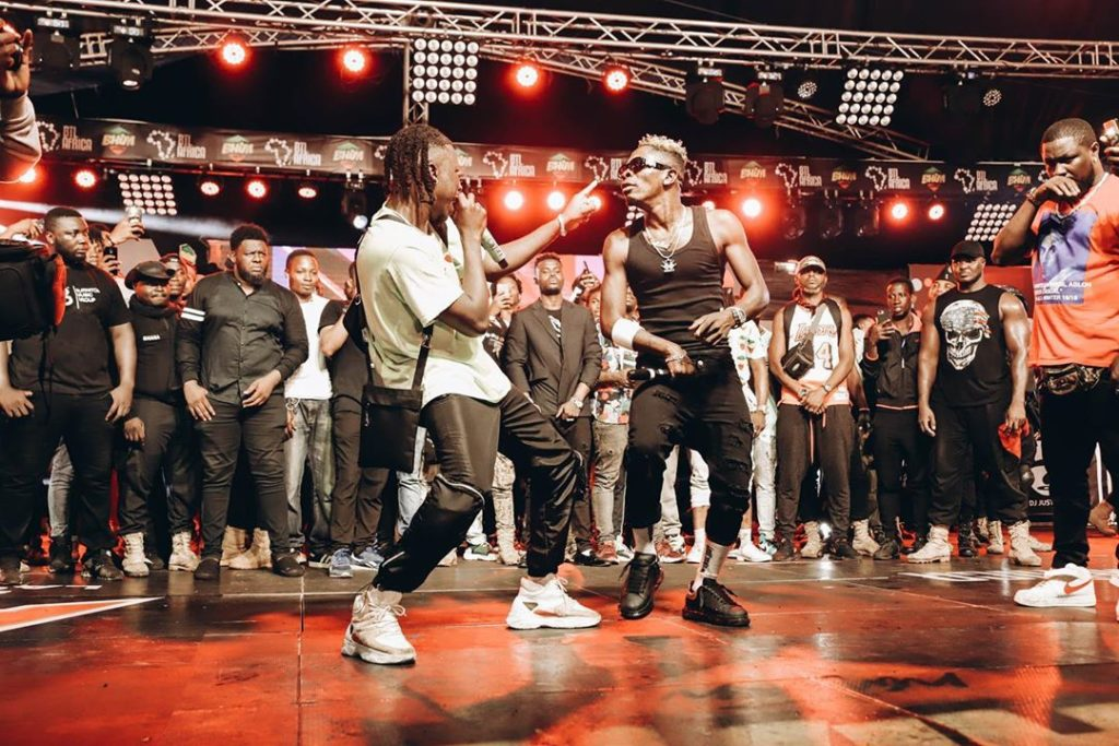 Shatta Wale and Stonebowy