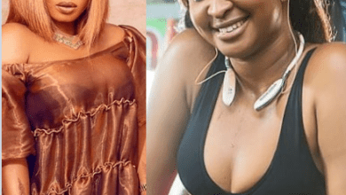 Etinosa Idemudia called out Halima Abubakar