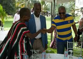 Mahama and Asiedu Nketia