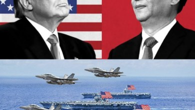 China responds after US deployed 3 Navy aircraft carriers to the Pacific Ocean