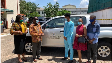Rahim Banda Gifted Brand New Car By Government of Ghana