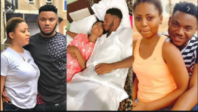 Photo of Regina Daniels' Ex-boyfriend Somadina Launches New Girlfriend With Serious Curves