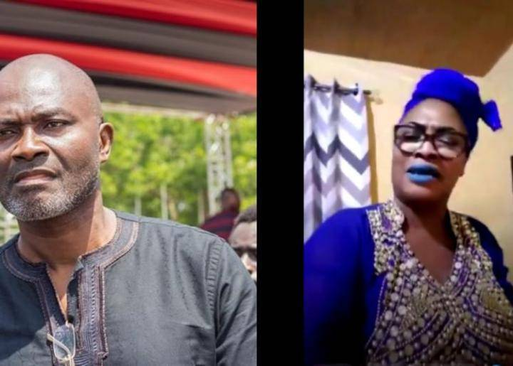 The Drug-Addict Baby Mama Of Kennedy Agyapong Goes On A Rant