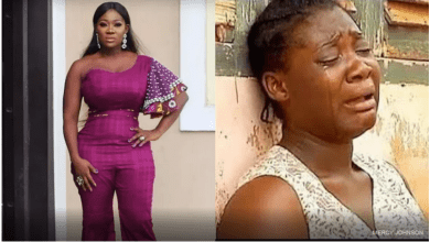 Mercy Johnson the witch