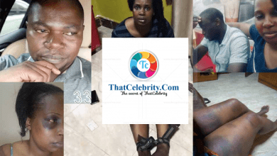 City businessman catches wife cheating, ties her up, beats her like a chicken thief and posts on Facebook