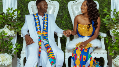 Akua and  Kwadwo traditional wedding celebration