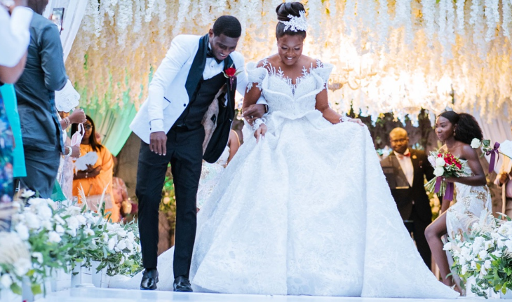 Rama and Kwame Did Melt our Hearts with their Outdoor Wedding in Ghana