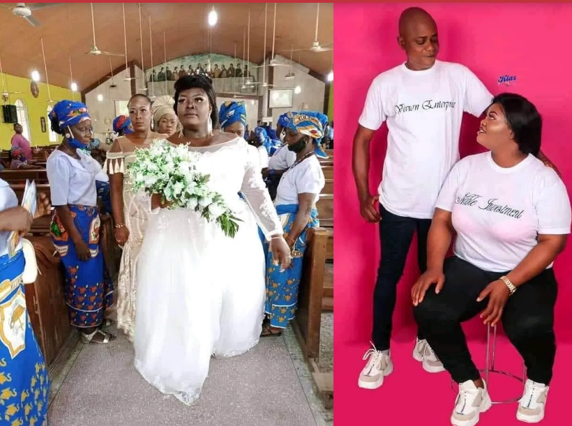 Tears flow as Young Lady mysteriously dies few hours after white wedding