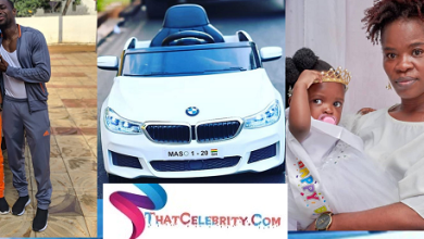 Ohemaa Woyeje Buys BMW for her Daughter