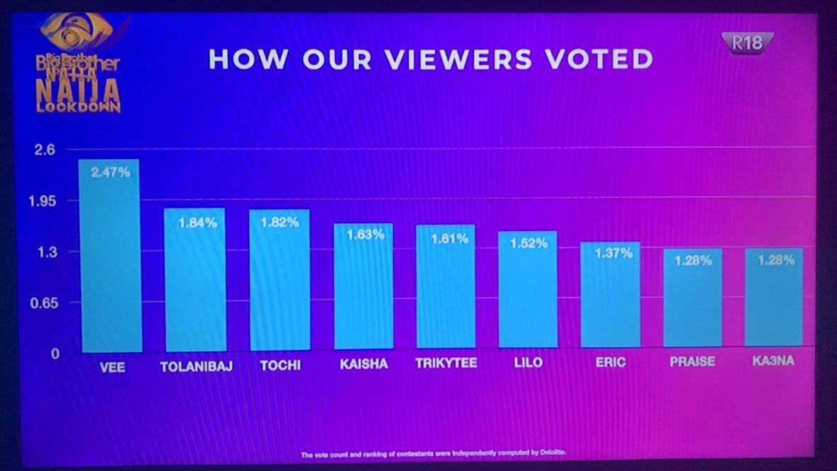 BBNaija viewers vote