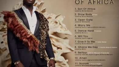 Kuami Eugene's Son Of Africa album