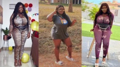 Maame Serwaa shows thick thighs