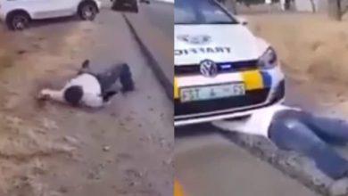 Shocking video Suspected YAHOO YAHOO Boy Captured Turning To snake In Broad-Daylight