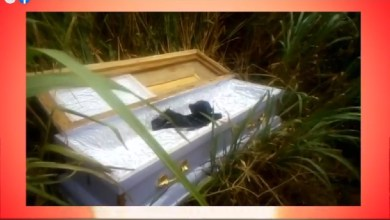 Fear grips residents as empty coffin pops up by roadside